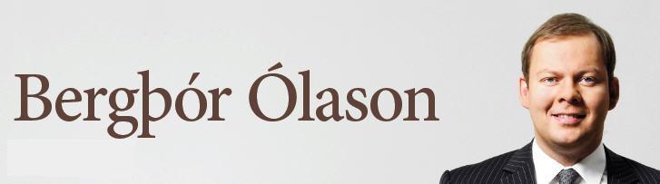 Bergþór Ólason - Hausmynd